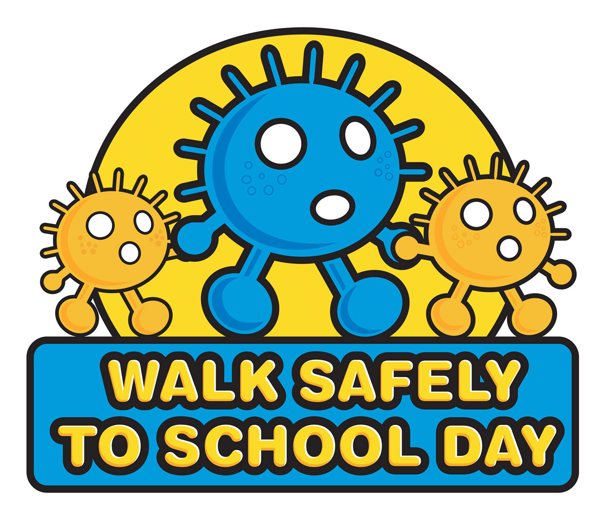 National Walk To Safely To School Day